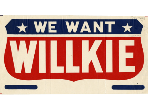 We Want Willkie