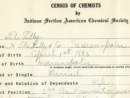 Eli Lilly Census of Chemi...