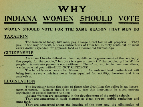 Why Indiana Women Should ...